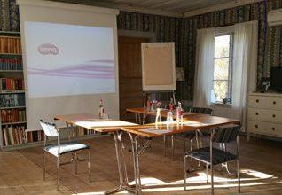 Konferenssal på Frägsta