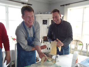 Pastatillverkning på Frägsta
