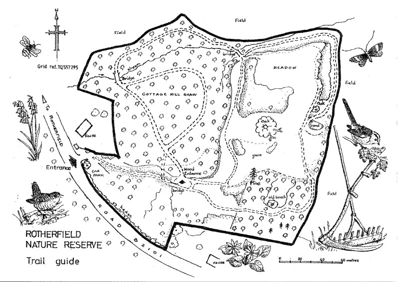 Rotherfield Map