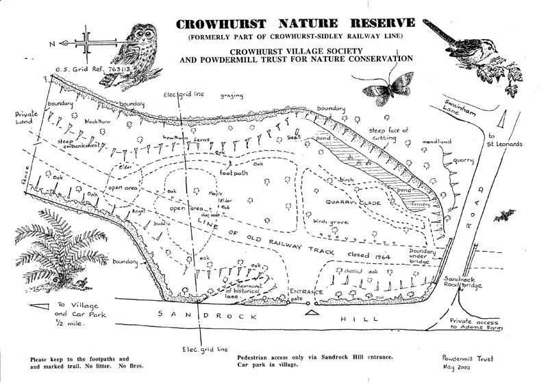 Cowhurst Map