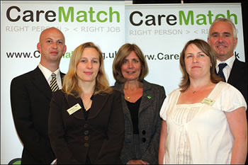 CareMatch, the innovative web based E recruitment site